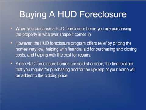 What Do I Have To Know About Buying A HUD Foreclosure?