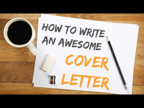 HOW TO WRITE A GOOD COVER LETTER // Free Template!
