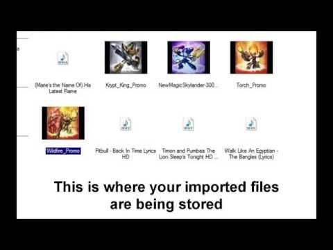 Skylanders with Different Songs Windows Movie Maker Tutorial