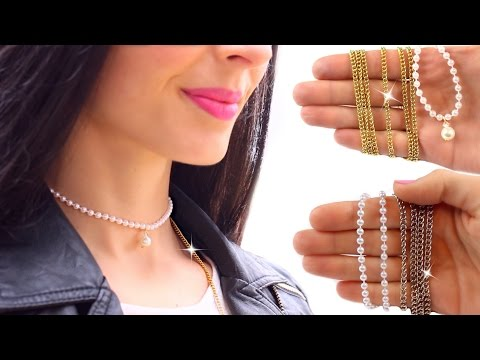 DIY chokers | No special tools! | SUPER EASY AND CHEAP!