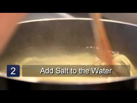 Cooking Pasta With Salt