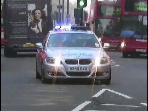 Paris Police + New York Police + London Police Responding