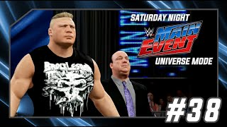 WWE 2K16 Universe Mode - SNME Episode 38: The Beast Brock Lesnar! #SNME