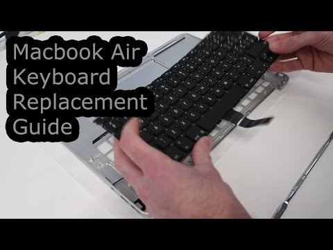 Macbook Air Keyboard Replacement Guide (A1369/A1466)