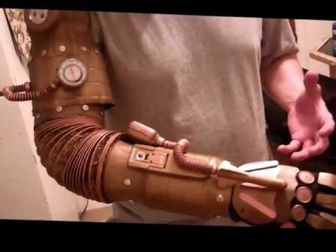 How To - Make a Steam Punk Arm for CHEAP! 2