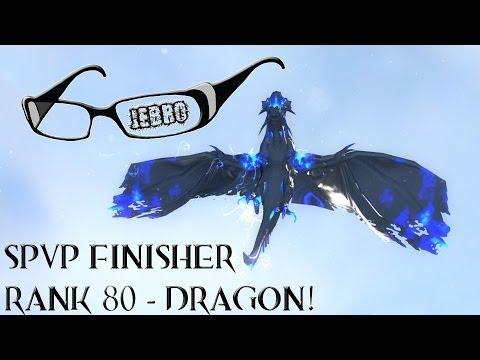 GW2 Rank 80 Dragon Finisher SPVP - Guild Wars 2