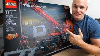 It FINALLY Happened!! - Building the Largest LEGO Technic Crane!