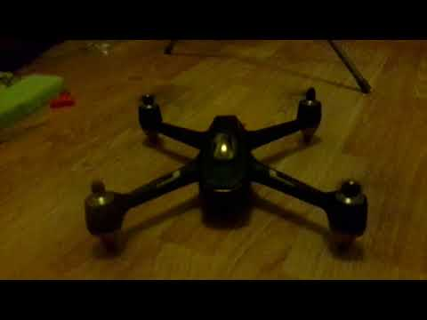 Hubsan h501s with DJI folding quiet props fitted