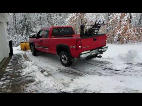 Snow plowing In-N-Out
