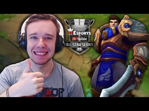REDMERCY CARRIED ME WITH FULL AD GAREN?!? - LoL YouTubers GRUDGE MATCH (GGEsports All Star Series)