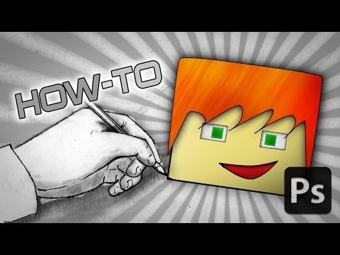 [TUTORIAL] How to Make a MINECRAFT Profile Picture! (Team Crafted Style) Photoshop CC
