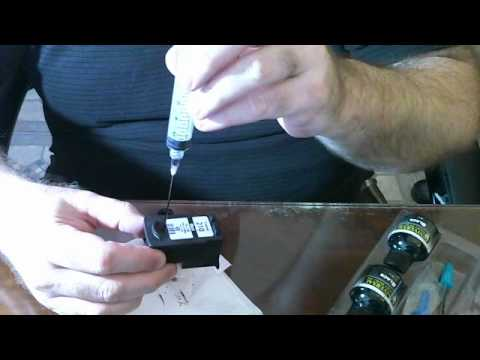 how to refill you ink cartriges