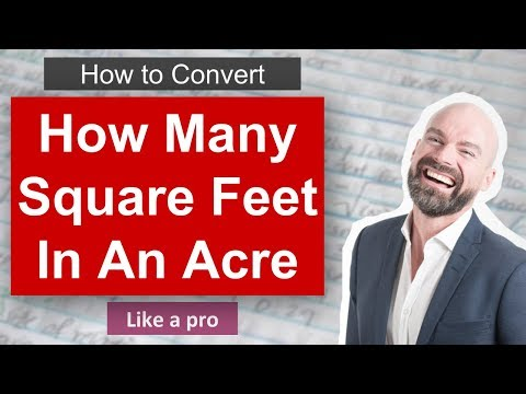 ✅ How Many Square Feet In An Acre