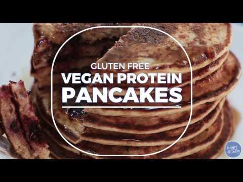 Vegan Pancakes: How To Make Gluten Free Vegan Protein Pancakes