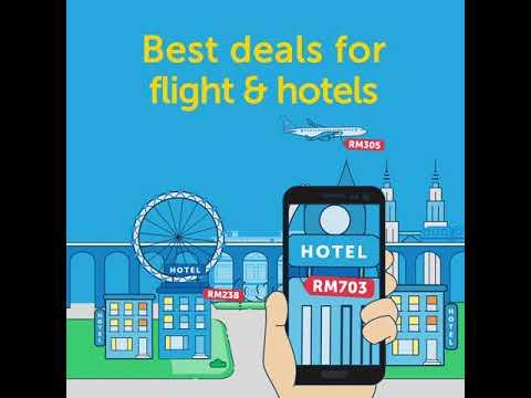Best Flight & Hotel Deals with Traveloka App