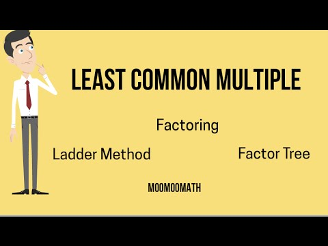 Finding lowest common multiple-3 ways to find the LCM