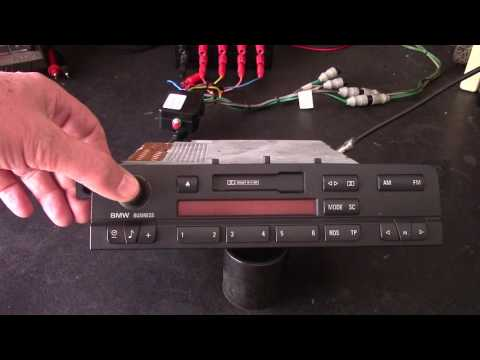 BMW radio disable mode bypass