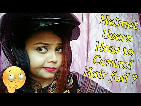 Helmet Users how to control hair fall | in Hindi|Bonny Divathestyle|
