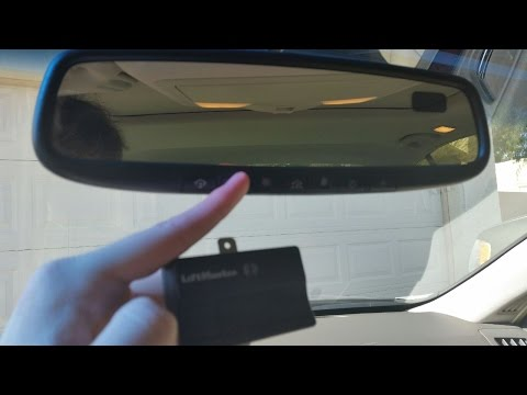 How To Program Your Mirror HomeLink System to a LiftMaster 2280 Garage Door Opener