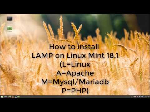 How to Install LAMP on Linux Mint 18.1 (SERENA)
