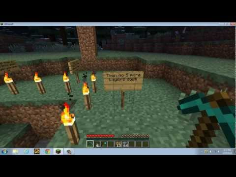 Mineraft: How to get Diamonds and Emeralds