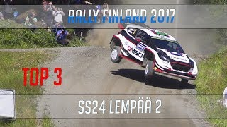 TOP 3 JUMPS WRC RALLY FINLAND 2017  ||  SS24 Lempää  || PURE SOUND and SLOW MOTION