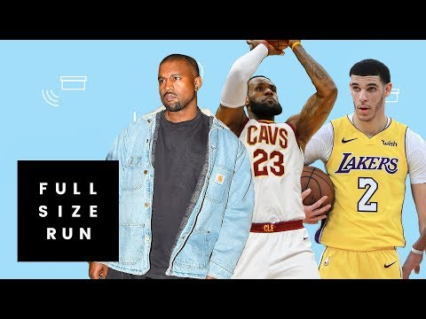The Man Making Custom Sneakers for Kanye West, LeBron James and Lonzo Ball  | Full Size Run