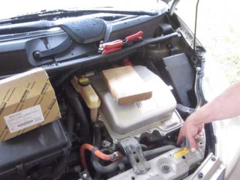 Gen2 Prius - Initial steps to access the Coolant Control Valve