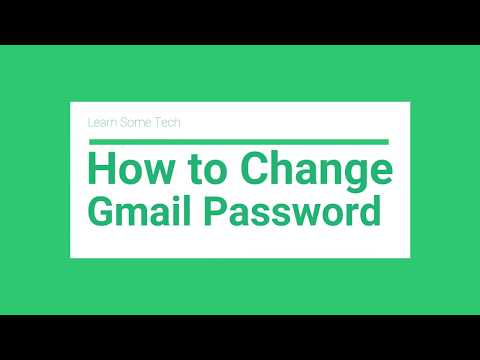How to Change Gmail Password in less than 2 minutes