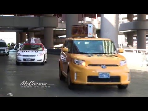 Taxi Cabs At McCarran