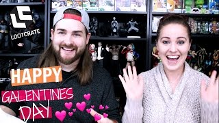 Loot Crate Galentines Day Unboxing