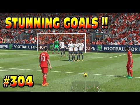 FIFA 14 PS4 Liverpool Career #304 STUNNING FREE-KICK & GOALS GOALS