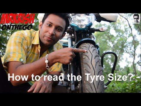 Tyre Size Explained || How to read Tyre Size || Yamaha FZ-S V2.0