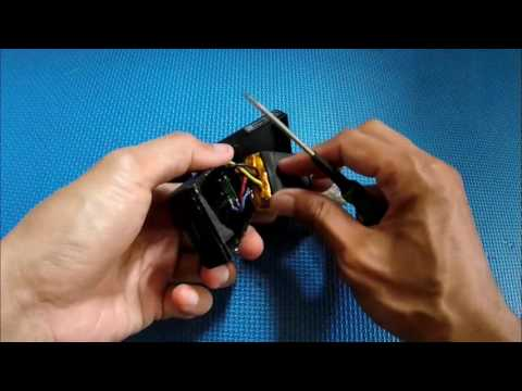 Disassemble Drone Battery