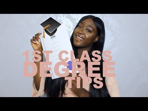 12 TIPS TO ACHIEVE A 1ST CLASS DEGREE!