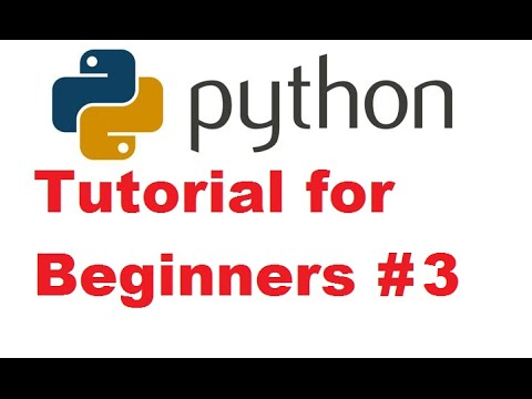 Python Tutorial for Beginners 3 - Variables and Inputs