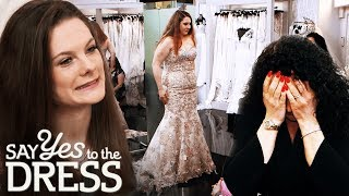 Mother Tries to Dissuade Bride From Getting a Gold Dress   Say Yes To The Dress UK