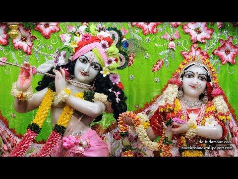 Sri Sri Radha Gopinath Temple Shayan Arati Darshan 29th May 2018 Live from ISKCON Chowpatty,Mumbai