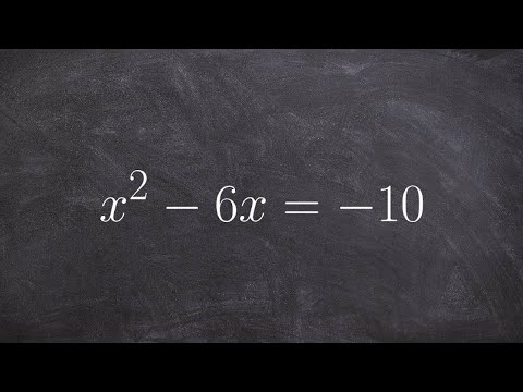 Find the complex roots of an equation using the quadratic formula