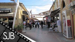 Walking Around North Nicosia in the Turkish Republic of Northern Cyprus - Lefkoşa, Kuzey Kıbrıs