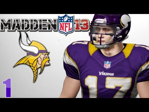 Madden 13 Career Mode : Creation of My Quarterback Anto Garabet - First Preseason Game Ep.1