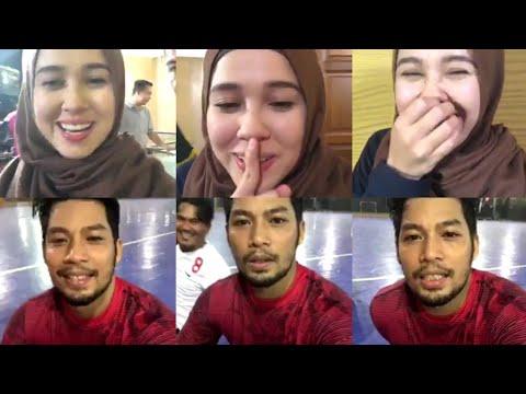Xxx Mp4 Sweetnya Emma Maembong Sibuk Shooting Pun Sempat LIVE Dengan Kamal Adli Tengah Main Futsal 3gp Sex