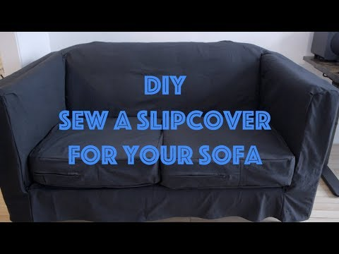 How To Sew a Slipcover for a Sofa
