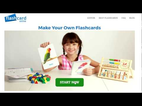 How to make flashcards online?