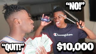 I PAID Angry Kid $10,000 to STOP Playing Fortnite Forever! THIS WAS HIS ANSWER!
