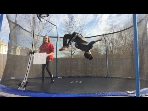 HOW TO: do a standing backflip on the trampoline