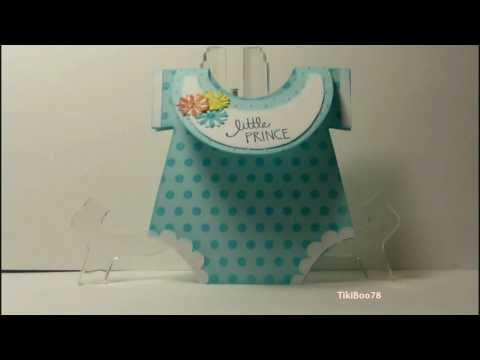 Onesie Baby Shower Card!!!