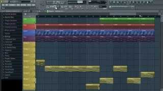 Justin Timberlake - What Goes Around Instrumental FL Studio Remake