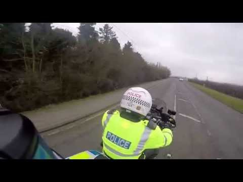 Safe riding from a police officer's view