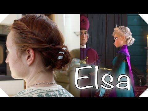 Disney's Frozen Hair Tutorial - Elsa's Coronation